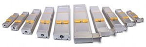 Choosing from a family of actuators available in a range of frame sizes and widths simplifies maintaining a uniform look and feel throughout a machine.